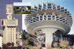 Необычные здания СССР