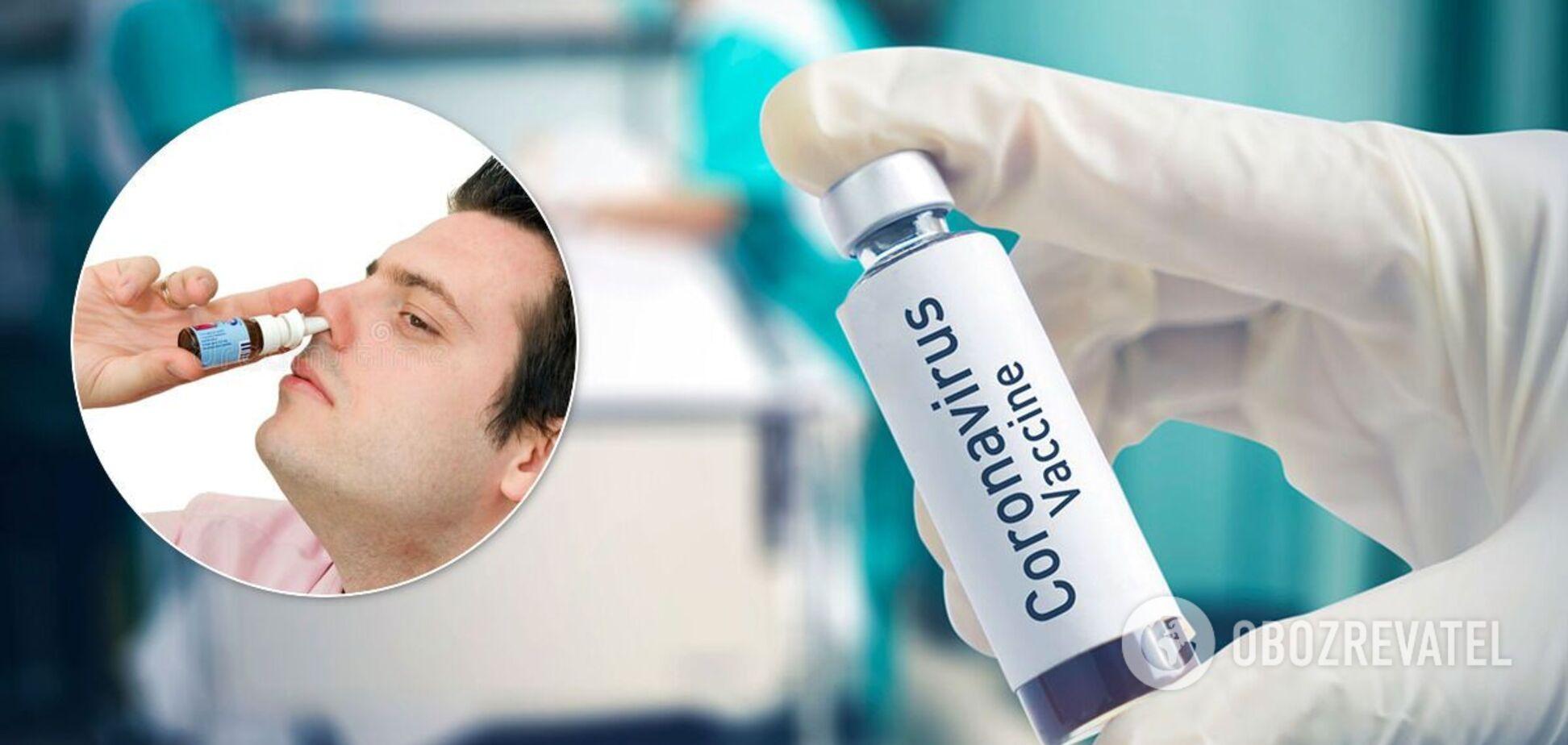 У Криму створили 'вакцину' від COVID-19: діє через ніс