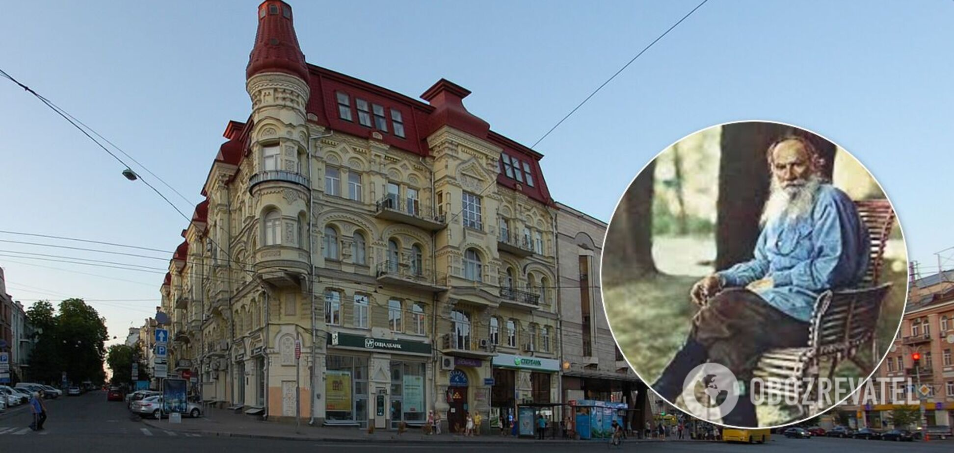 Вахтанг Кіпіані обурився через топоніми на честь Льва Толстого в Києві