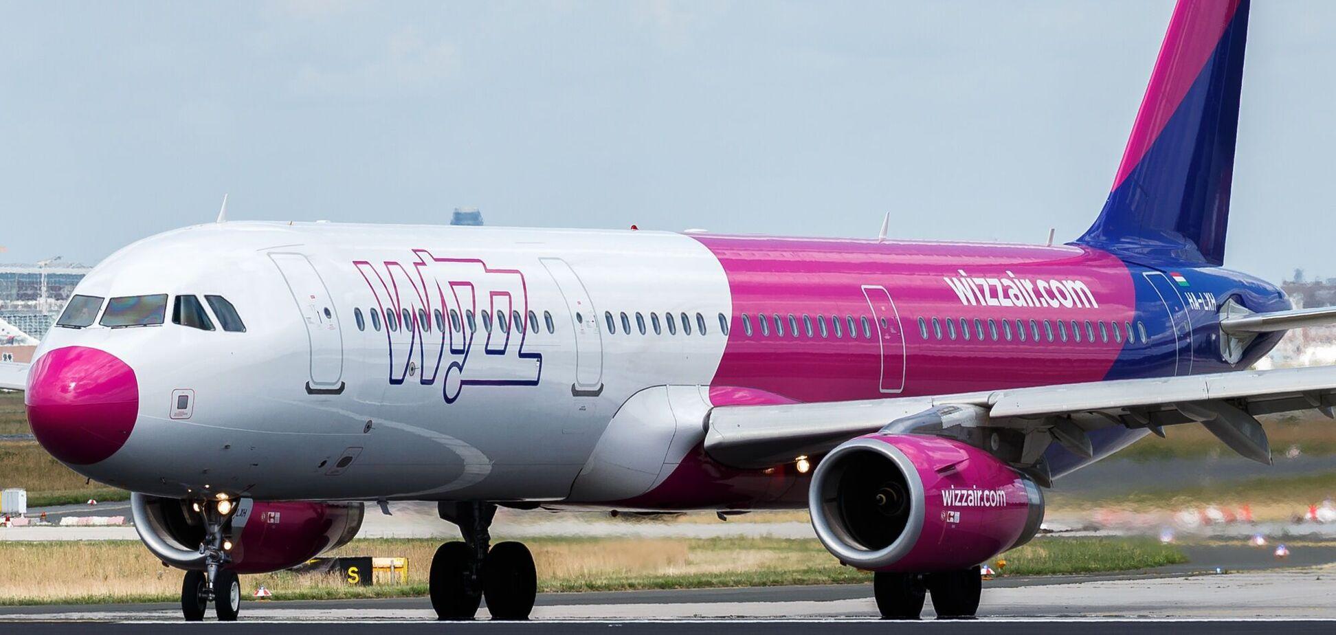 Wizz Air скасувала 24 рейси з України до Європи