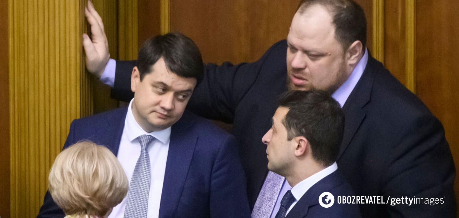 Владимир Зеленский выступит перед Верховной Радой
