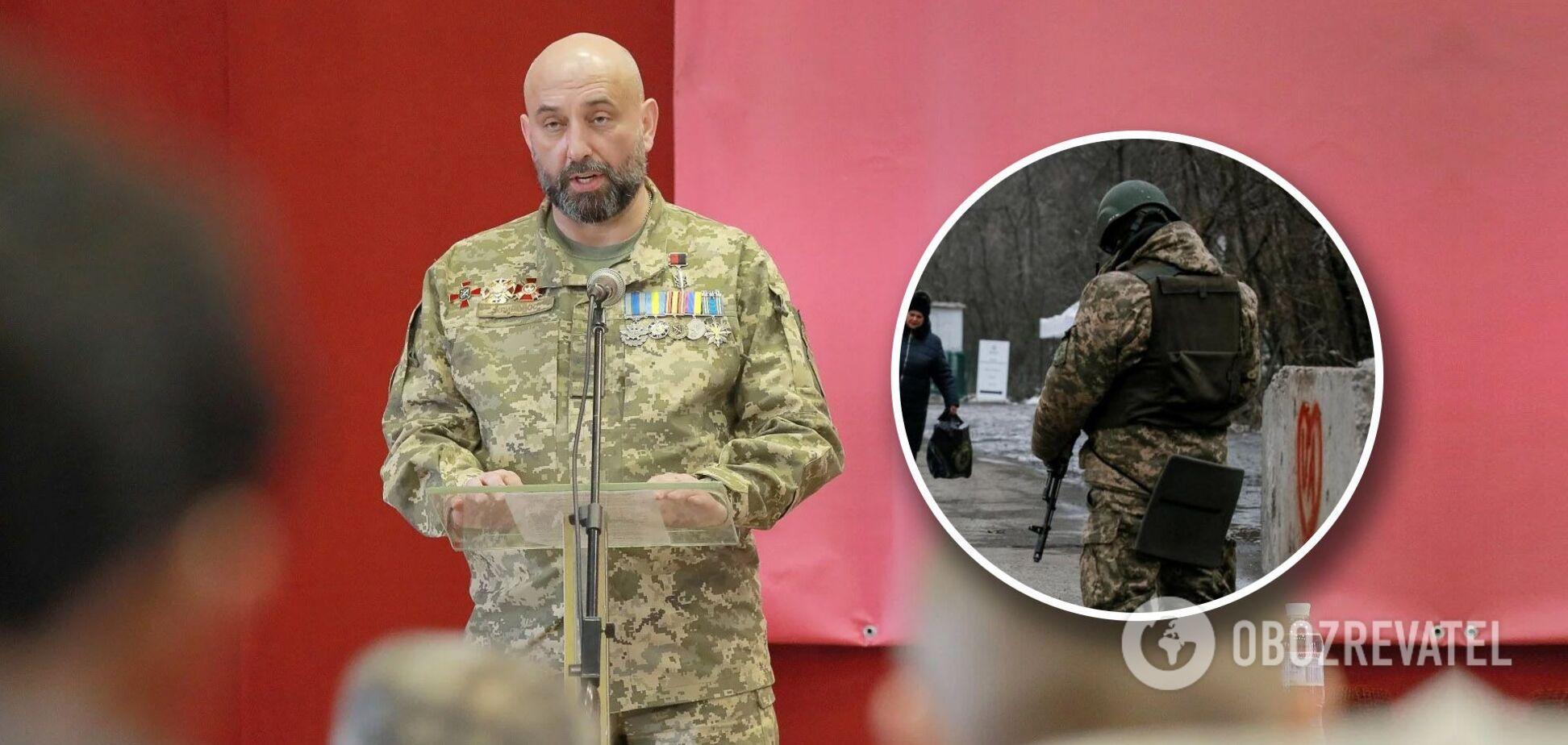 Генерал ЗСУ Кривонос: армія чекає команди наступати на Донбасі, але потрібна інша тактика