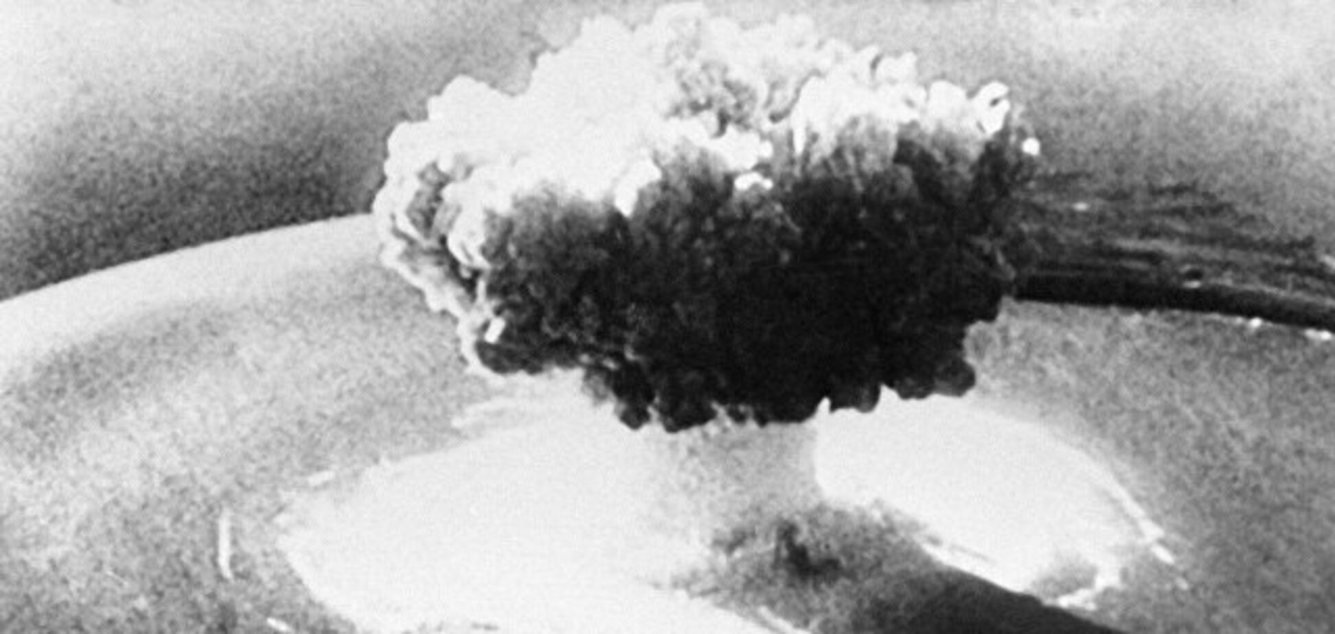 Первую атомную бомбу в Китае испытали 16 октября 1964 года