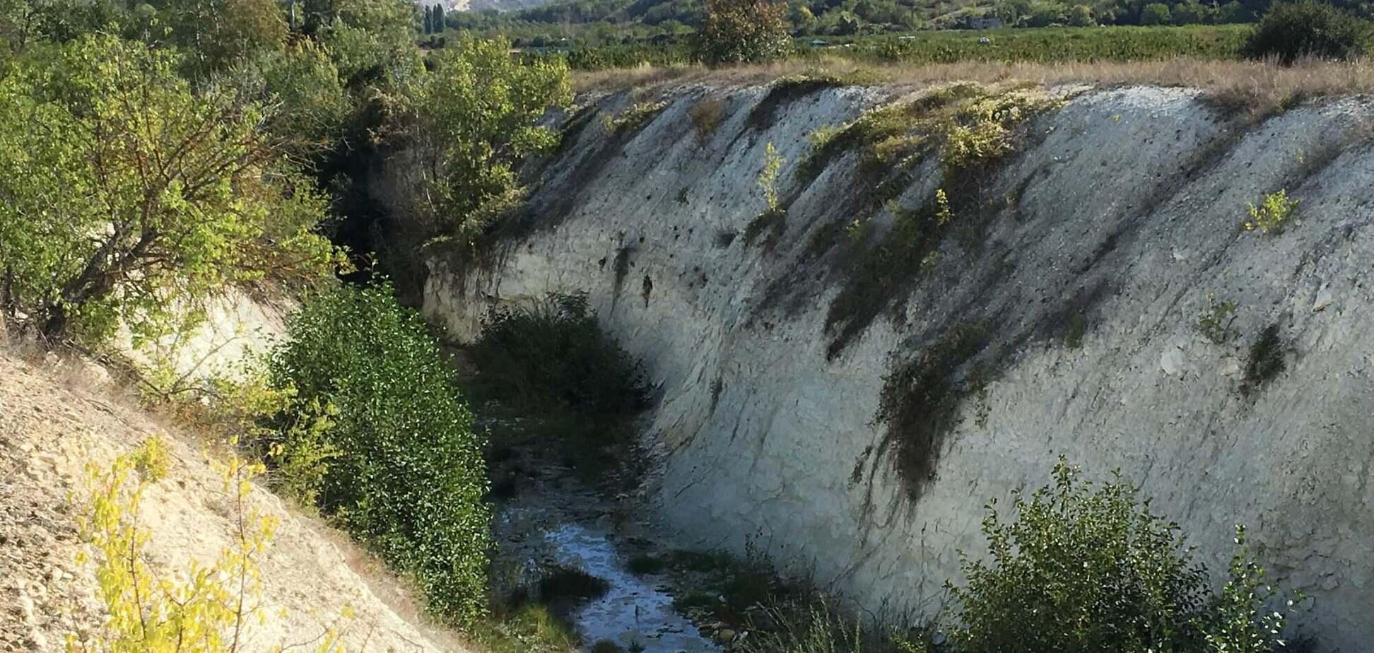 Гирло річки Кача в Бахчисарайському районі