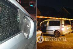 В Запорожье обстреляли авто кандидата в депутаты
