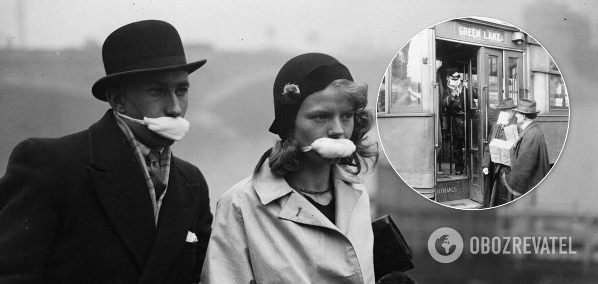 Испанский грипп, 1918 год