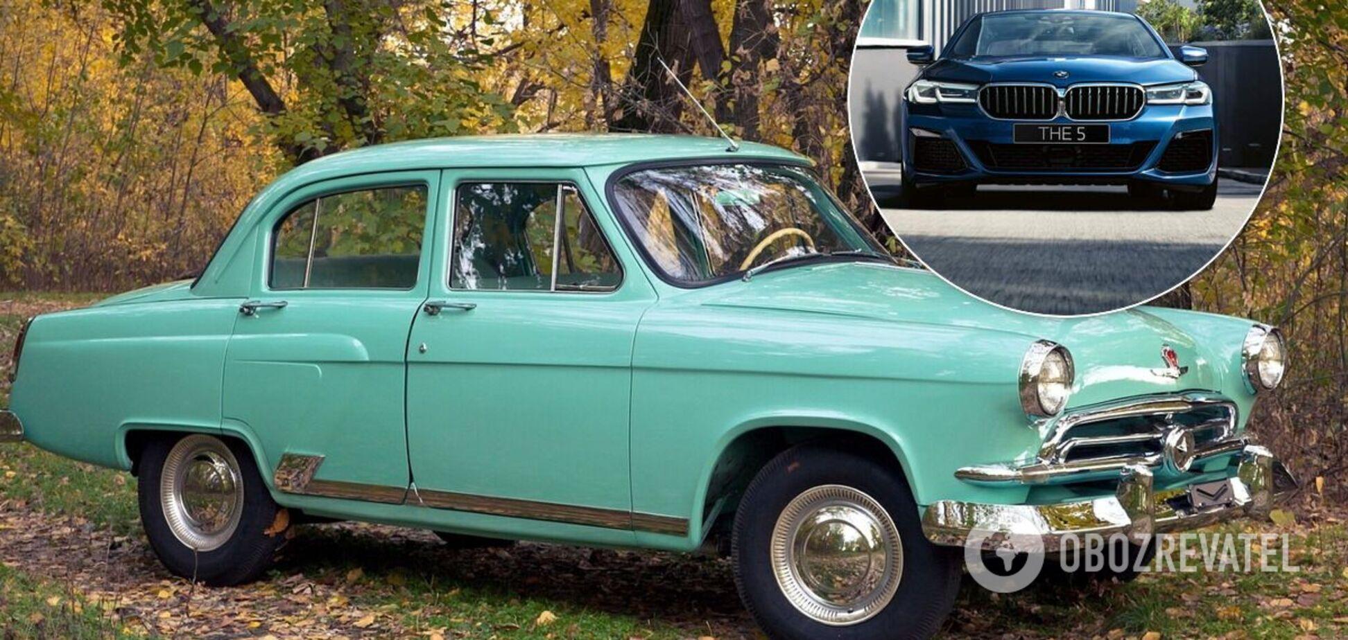 Рідкісну ГАЗ-21 'Волга' продають в Україні за ціною нової BMW 5-Series