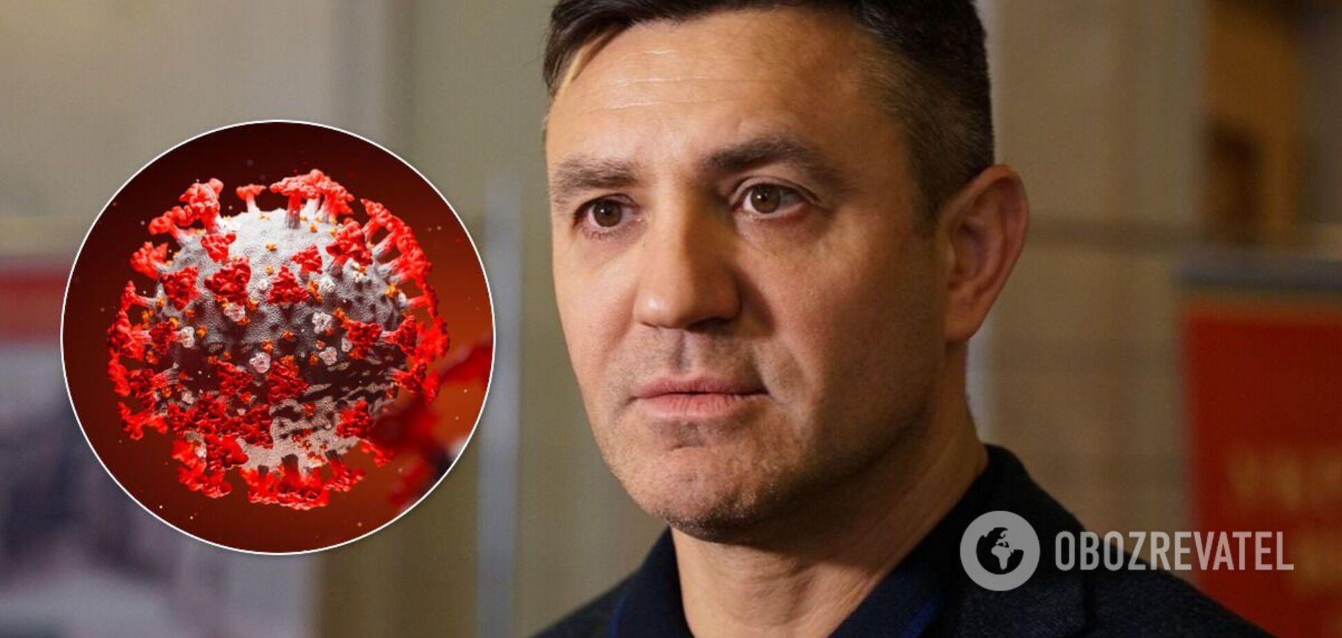 Микола Тищенко заразився коронавірусом