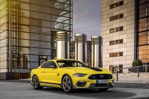 Ford Mustang Mach 1 дебютирует в европейской спецификации
