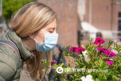 Відсутність запаху і смаку під час коронавірусу