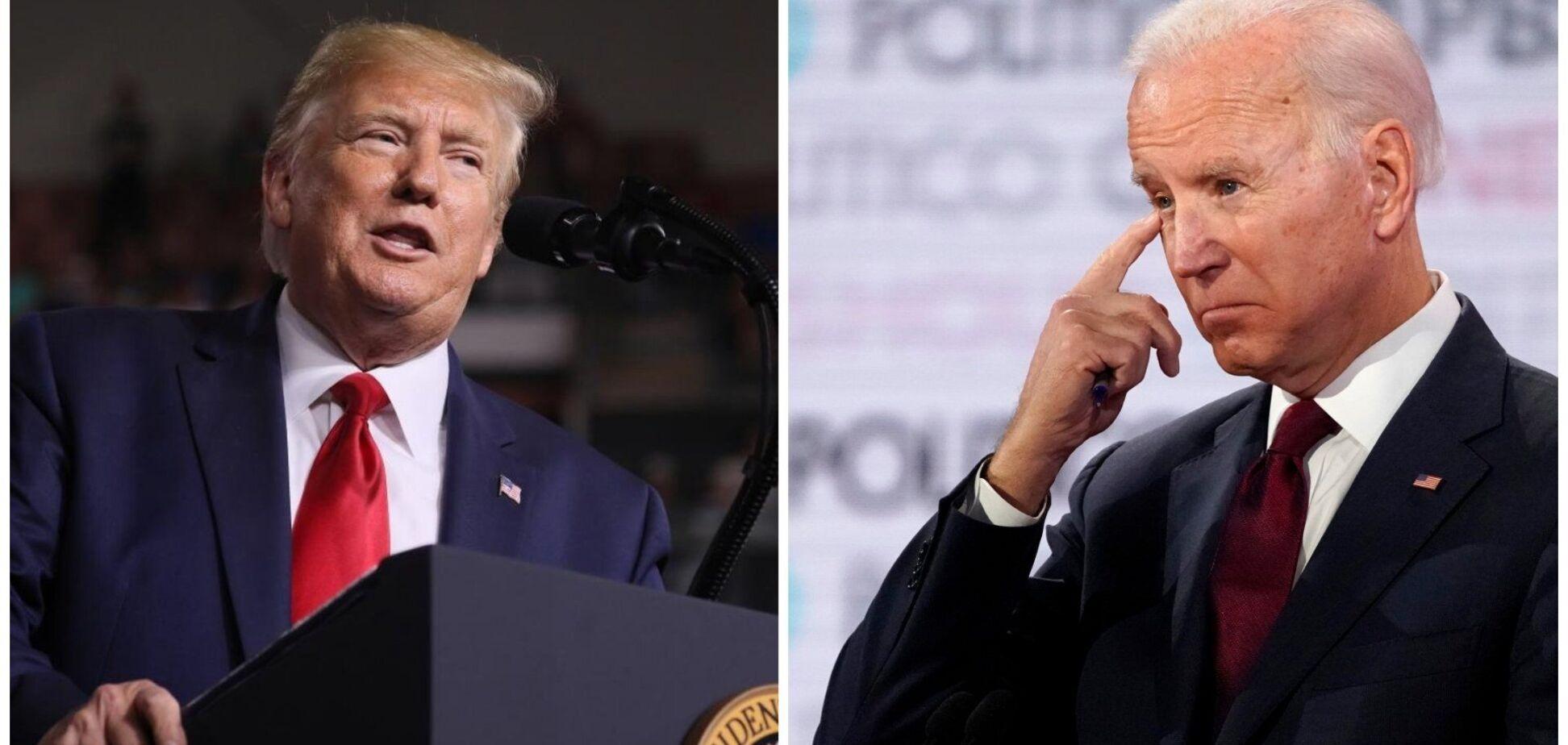 Джо Байден и Дональд Трамп баллотируются на пост президента США