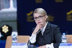 Тимошенко назвала опрос Зеленского 'потешным'