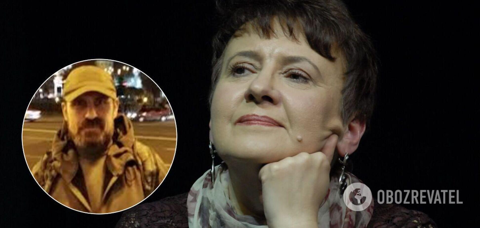 Оксана Забужко пояснила вчинок Миколи Микитенка із самоспаленням на Майдані
