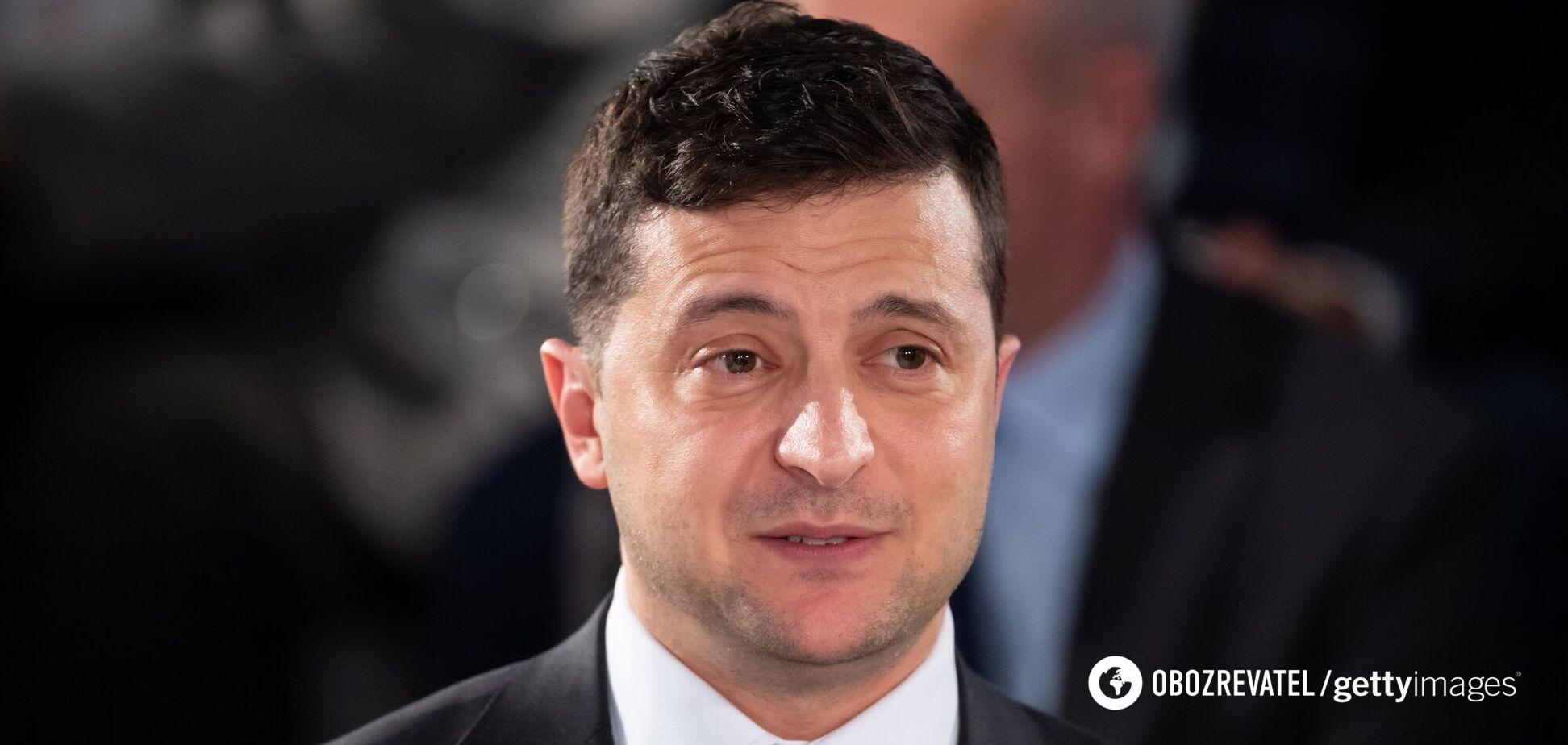 Зеленский ранее озвучил пять вопросов для избирателей