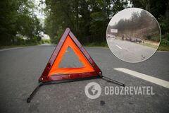 На трасі під Києвом трапилася аварія