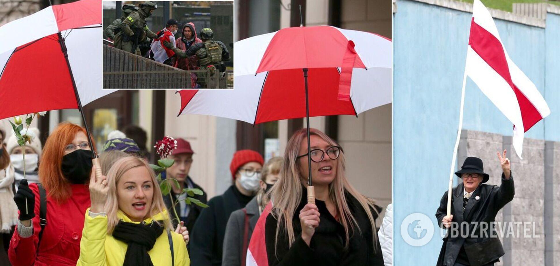 В Беларуси протестовали против власти