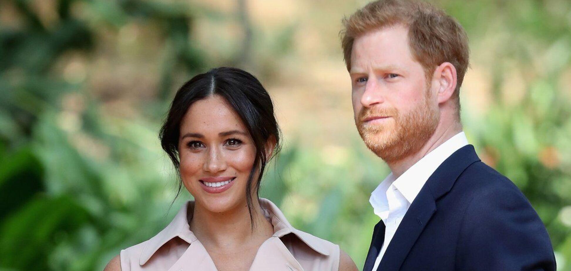 Меган Маркл и принцу Гарри сделали новый официальный портрет