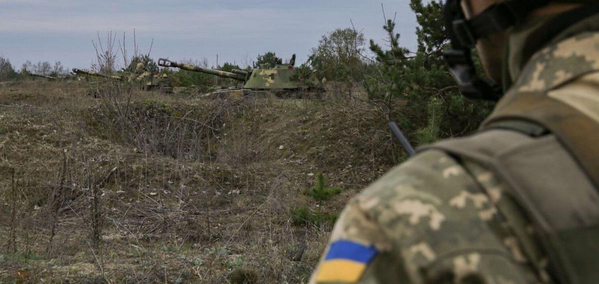 Войска РФ четыре раза нарушили режим тишины на Донбассе
