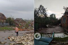 Вследствие непогоды в Кропивницком травмированы три человека