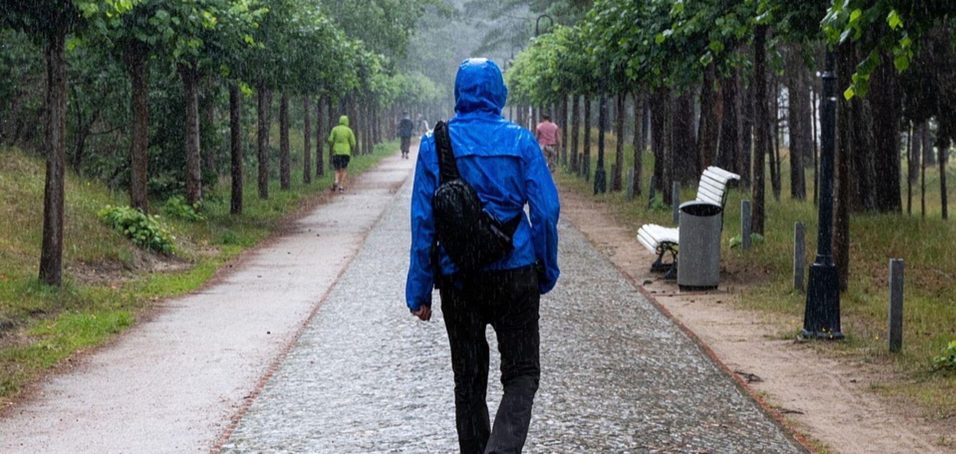 Укргідрометцентр попередив про сильні дощі