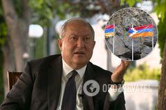 Армен Саркісян висловився про ситуацію в Нагірному Карабасі