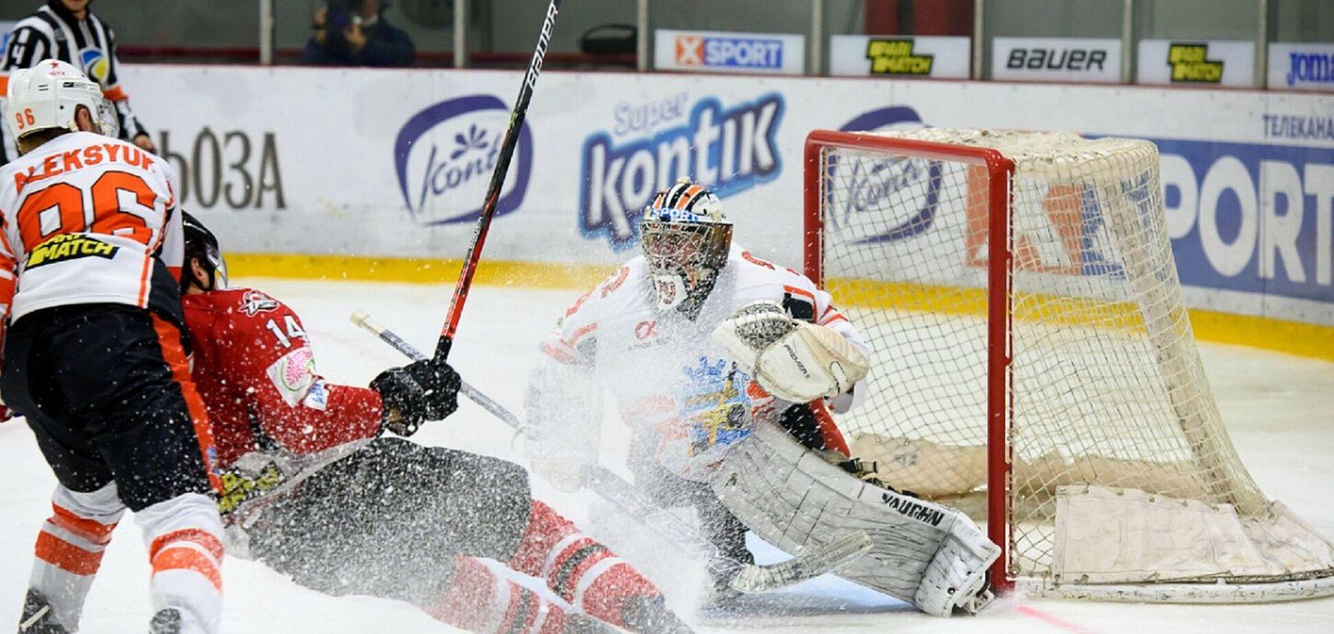 'Кременчук' вырвал победу у ХК 'Донбасс' и сравнял счет в финальной серии УХЛ Париматч