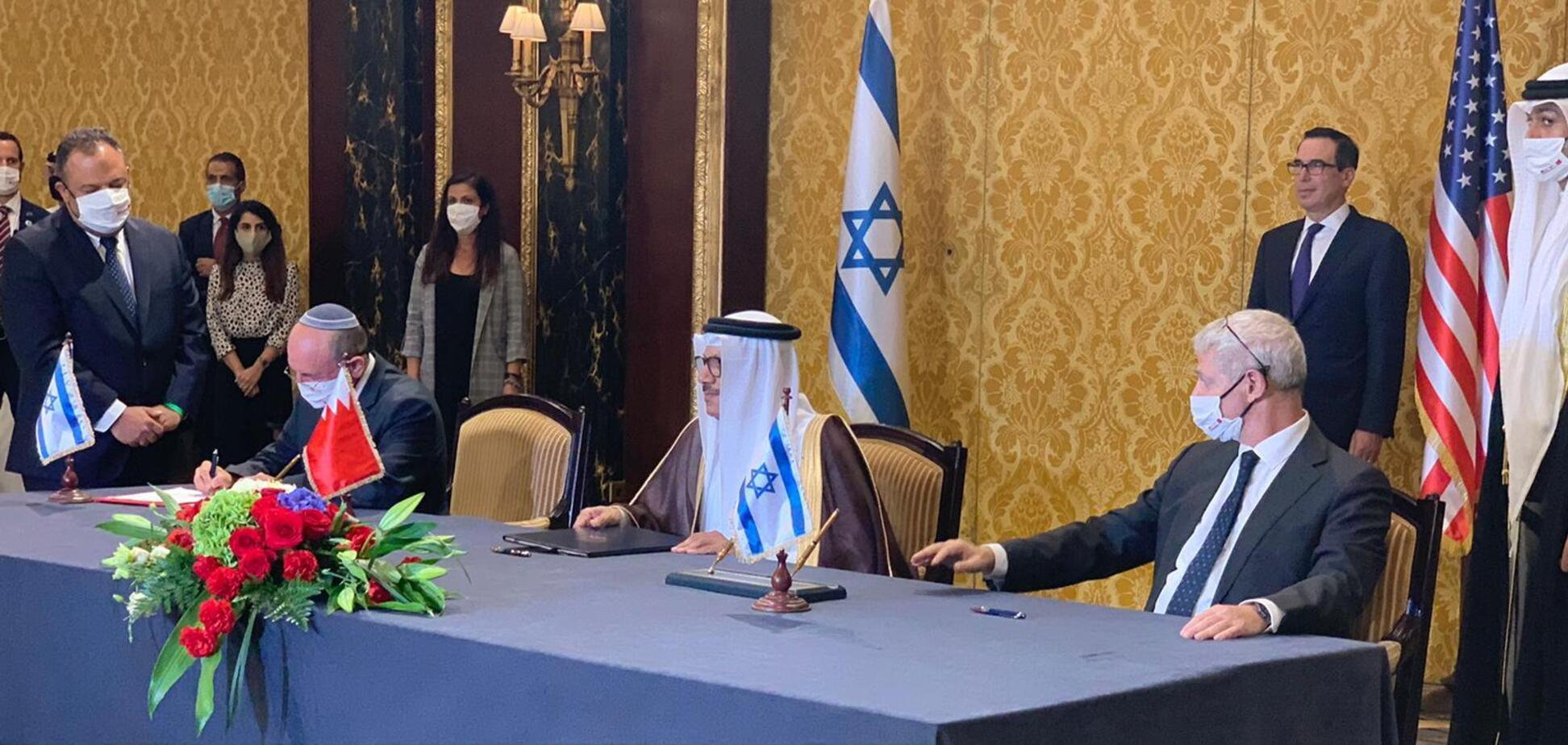 Ізраїль і Бахрейн встановили дипломатичні відносини