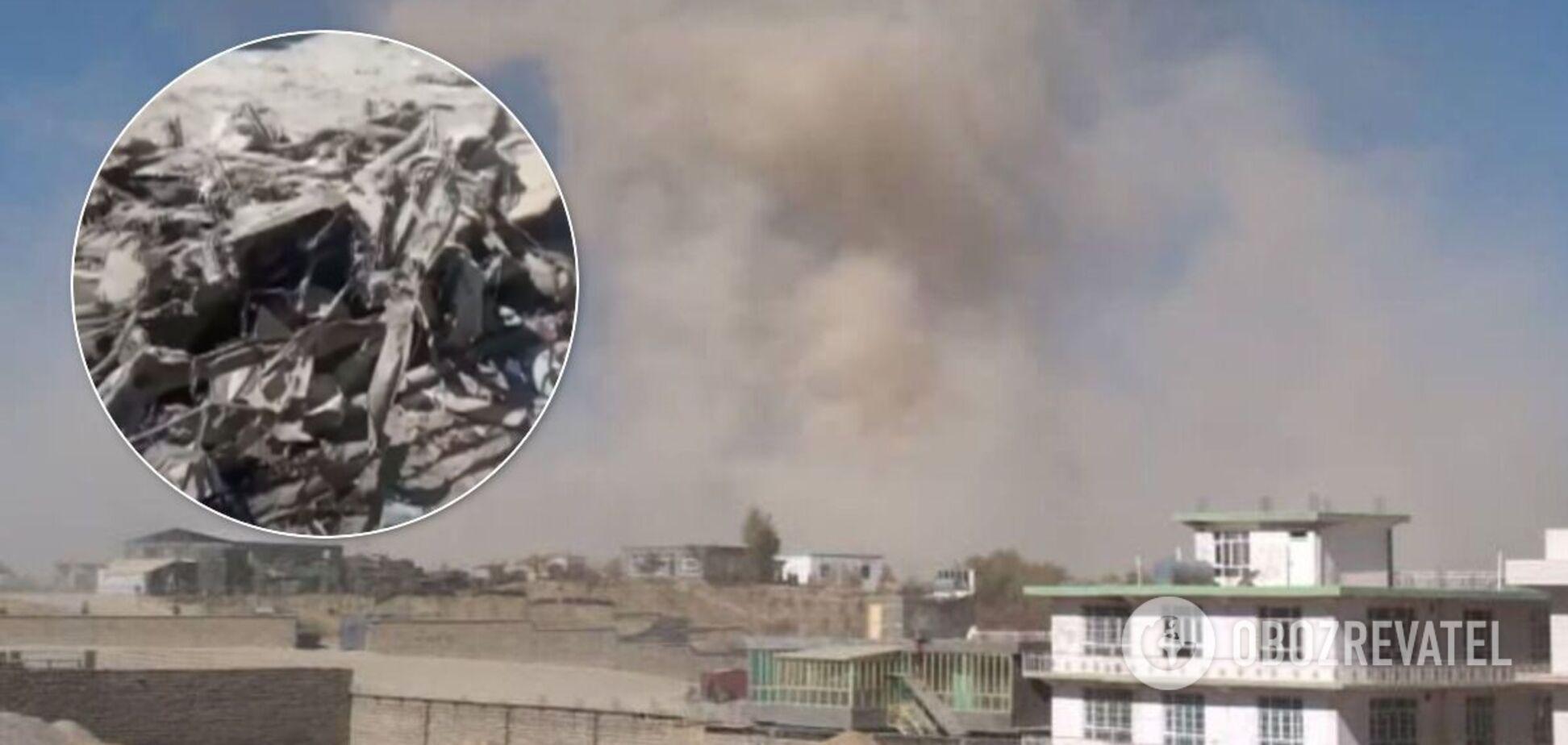 Взрыв авто в Афганистане