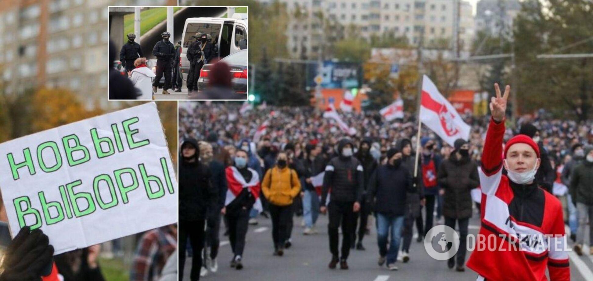 Білорусь вийшла на 'Партизанський марш': силовики стріляли гумовими кулями, сотні затриманих
