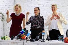 Цепкало, Тихановська і Колесникова