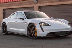 Перший електромобіль Porsche розбили через 20 секунд після старту
