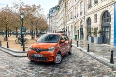 Renault Twingo Electric повністю розсекречено