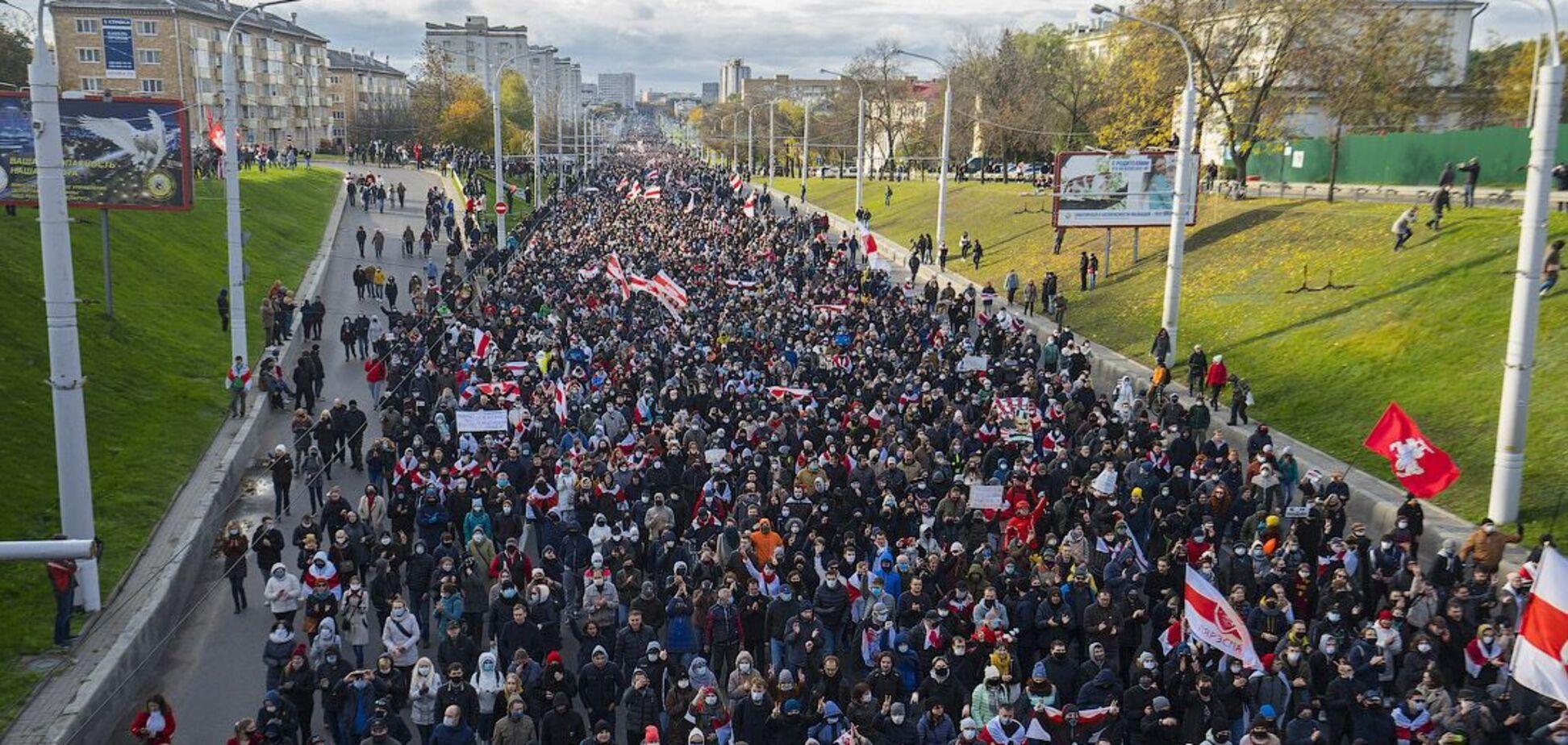 Неймовірний Партизанський марш у Мінську
