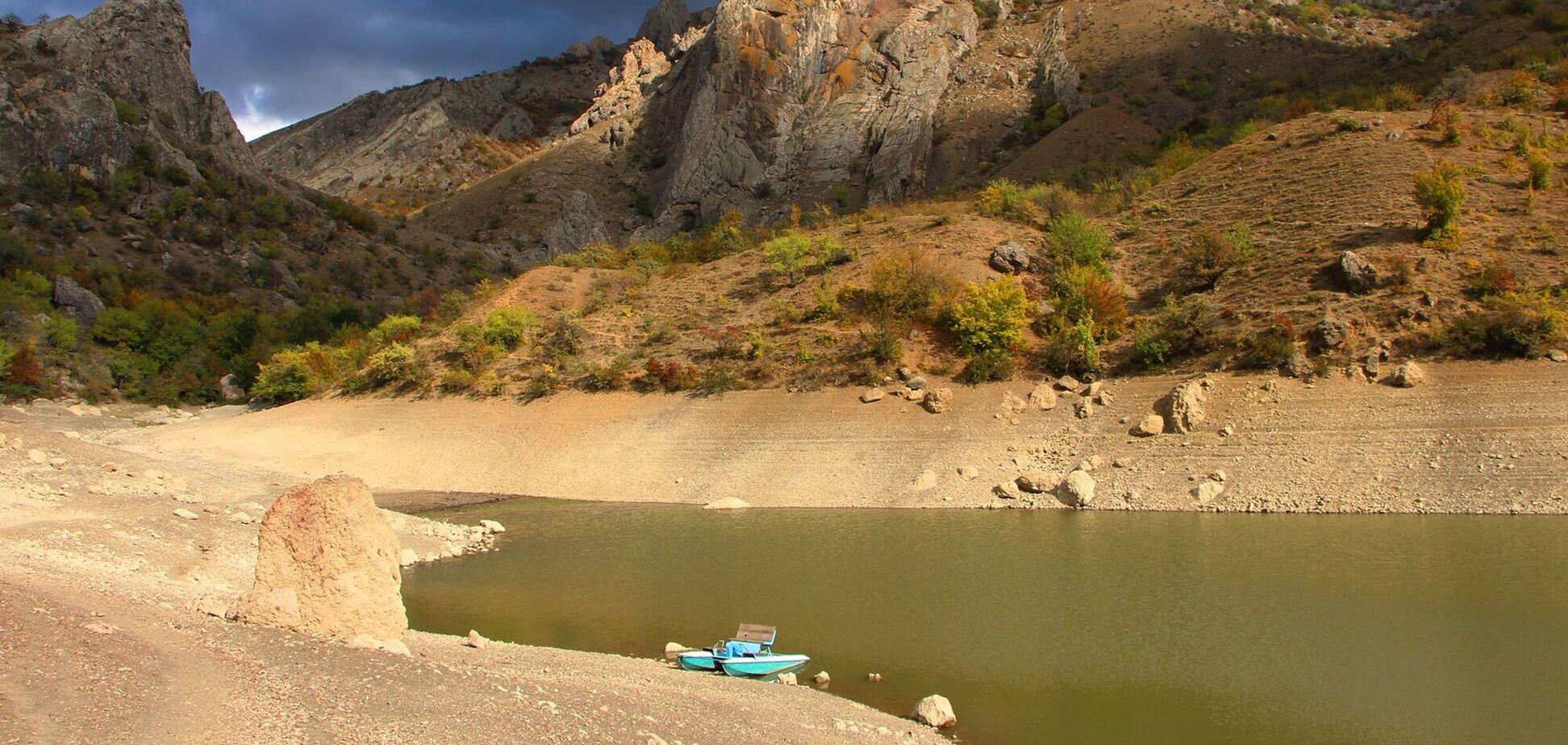 Озеро Панагия в аннексированном Крыму