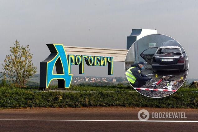 В Дрогобыче неизвестный поджег автомобиль кандидата на пост главы ОТО