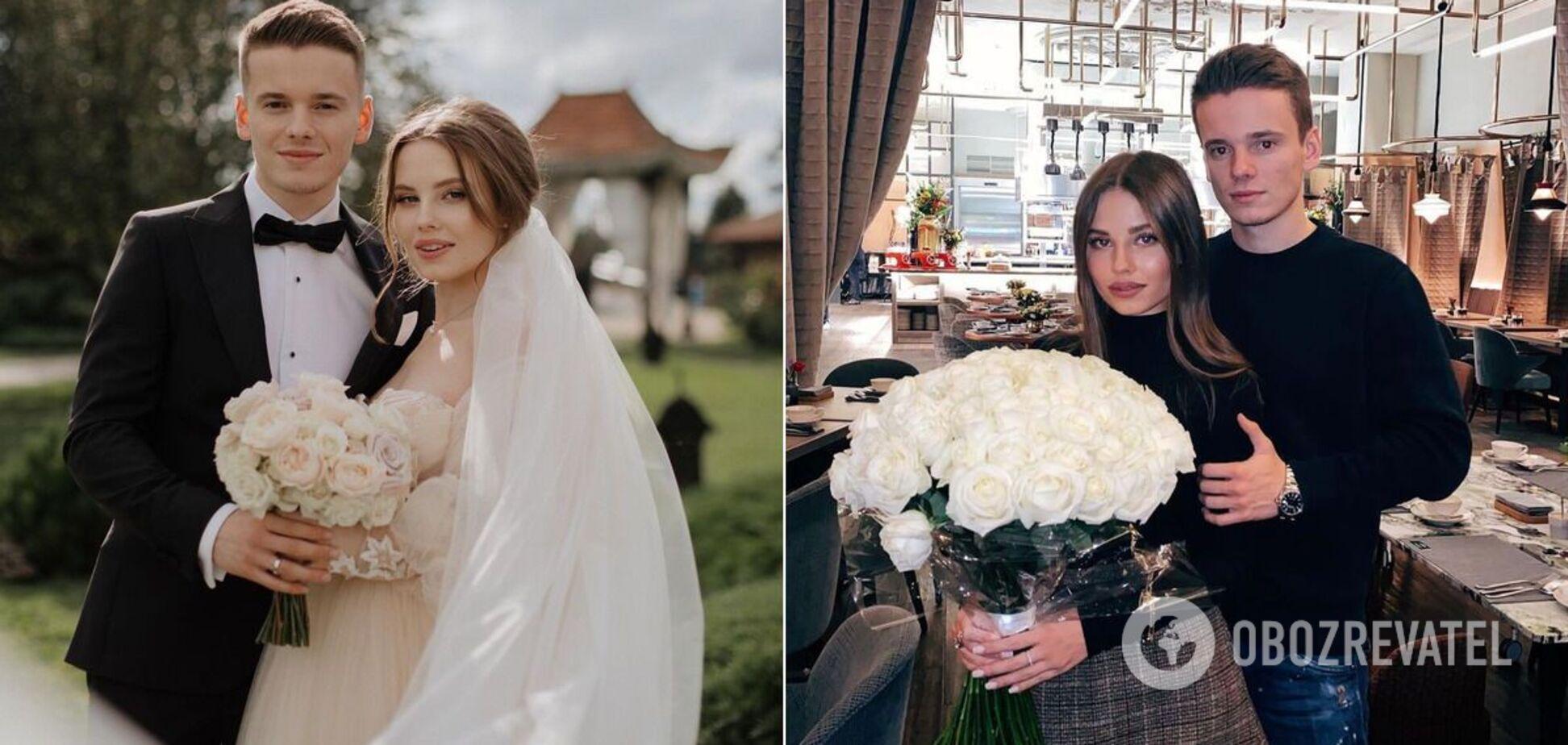 Арсеній Шульгін з дружиною Ліаною