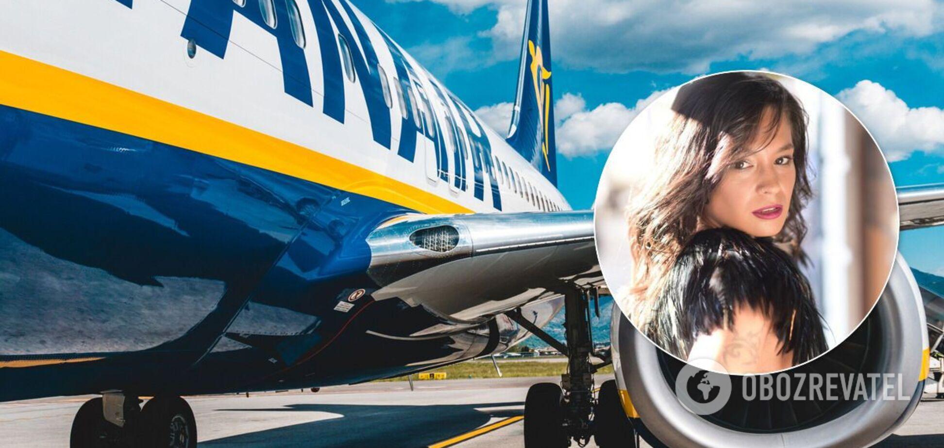 Пассажирка Ryanair вместо Валенсии ошибочно прилетела в Киев