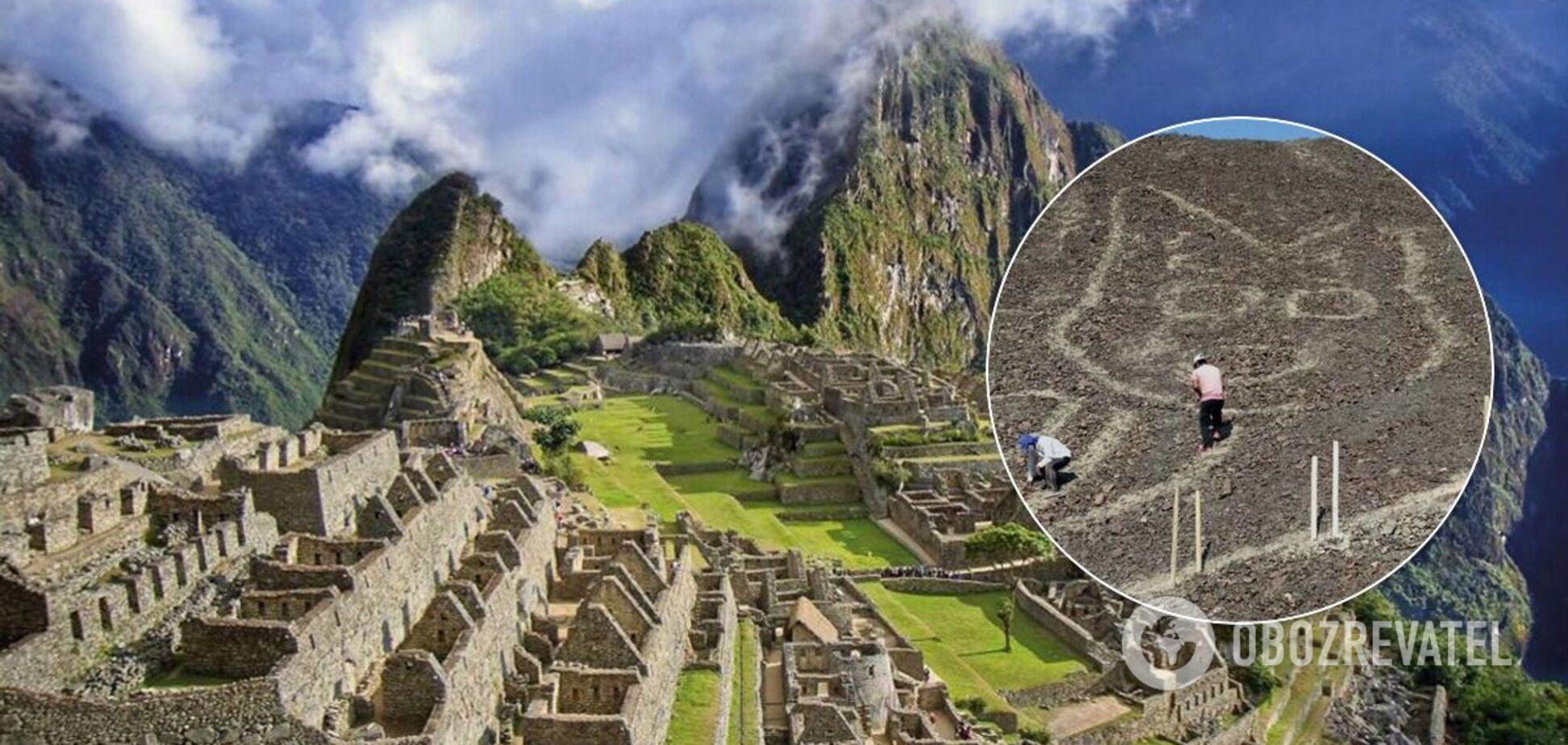 У Перу знайшли геогліф кота віком понад дві тисячі років. Фото