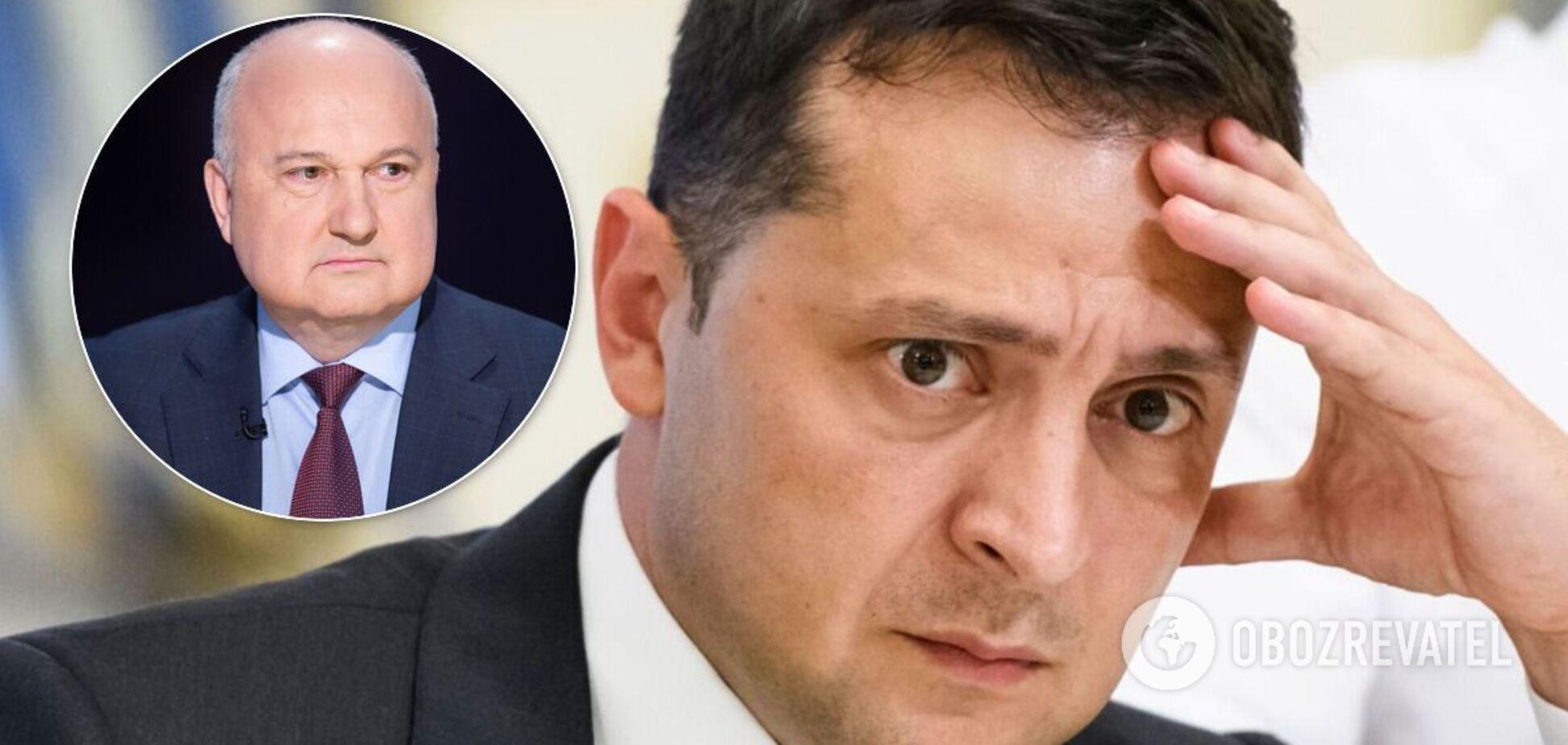 Ігор Смешко і Володимир Зеленський
