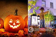 Геловін відзначається щорічно в ніч з 31 жовтня на 1 листопада