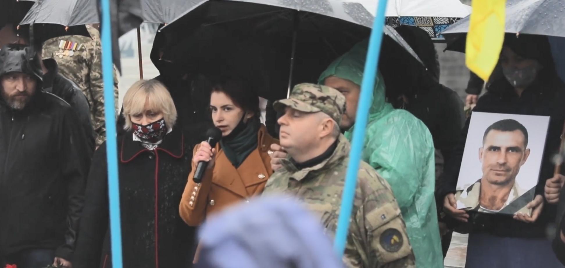 Юлія Микитенко звернулася до Володимира Зеленського після загибелі батька