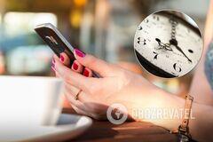 Телефоны в основном переходят на зимнее время автоматически