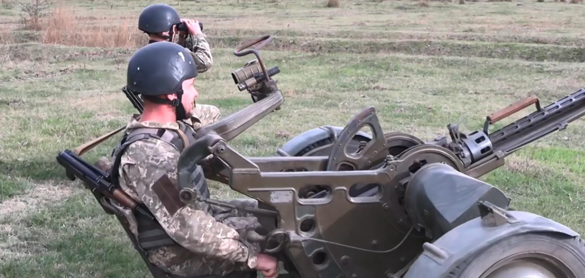 Воины ВСУ потренировались сбивать вражеские БПЛА