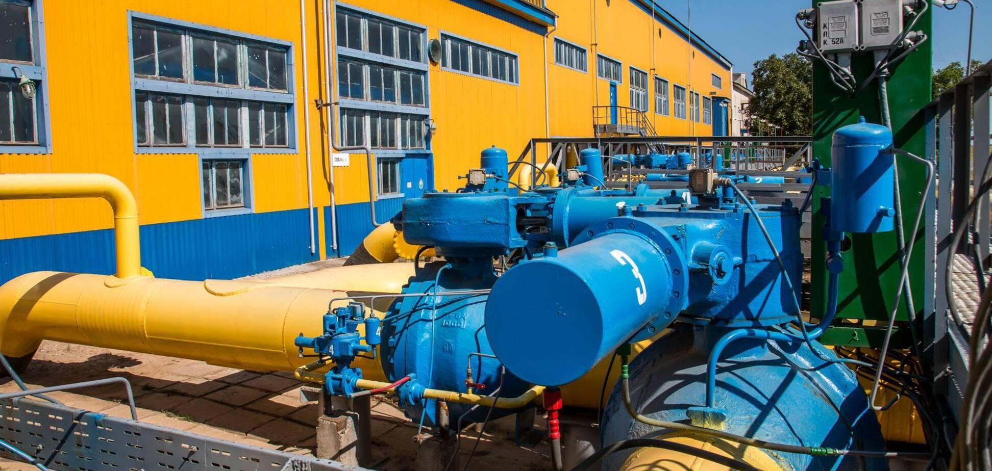 Молдова будет хранить газ в Украине
