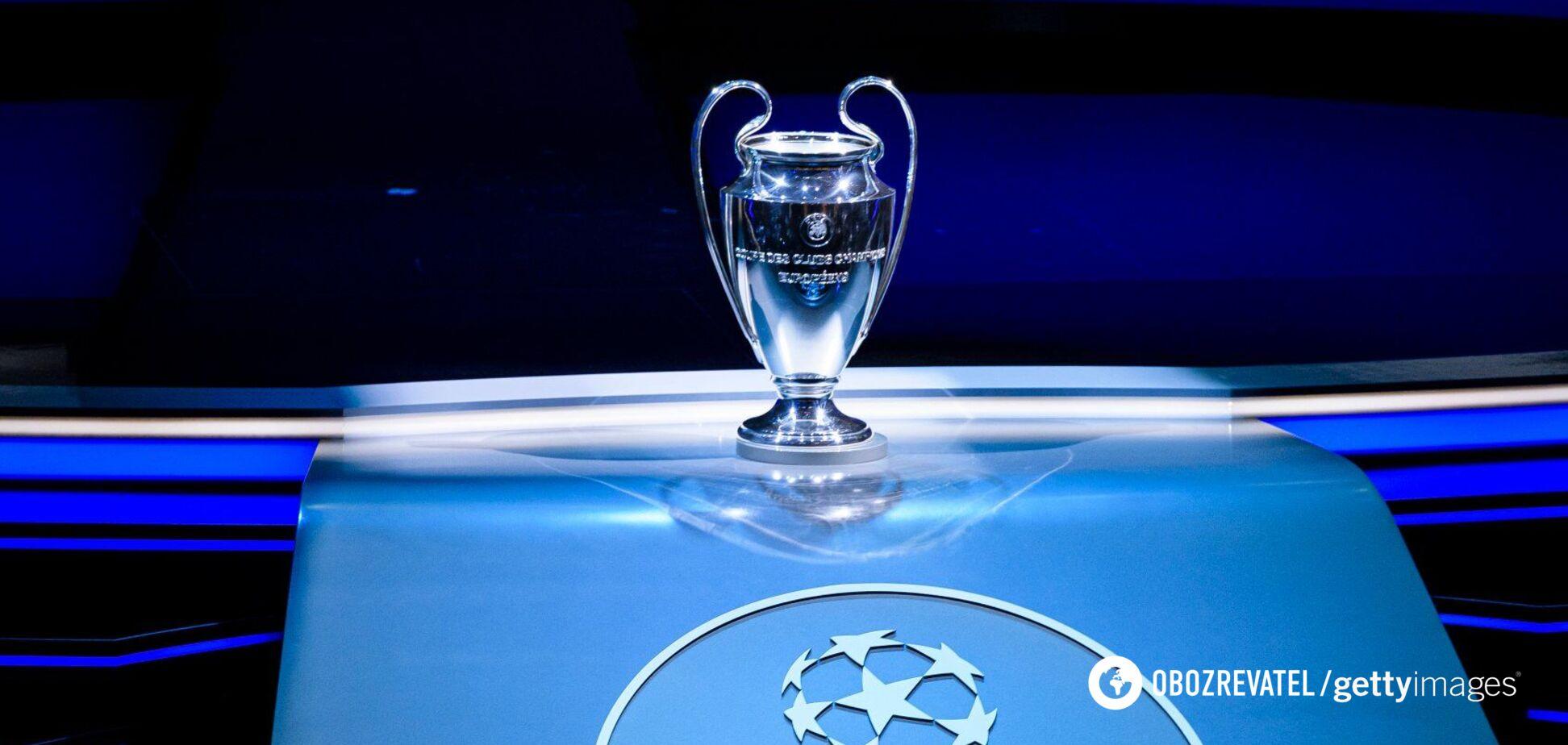 Жеребьевка Лиги чемпионов: в цифрах — еще страшней