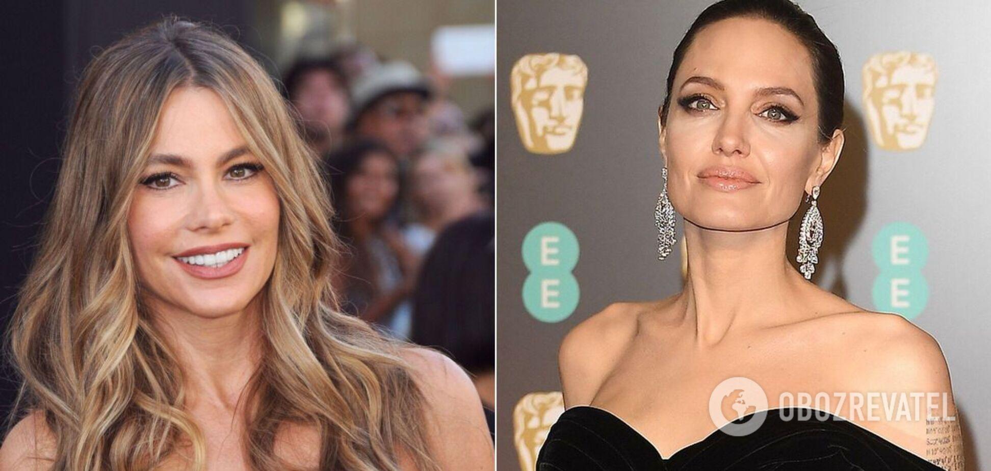 Найдорожчими акторками світу стали Софія Вергара та Анджеліна Джолі