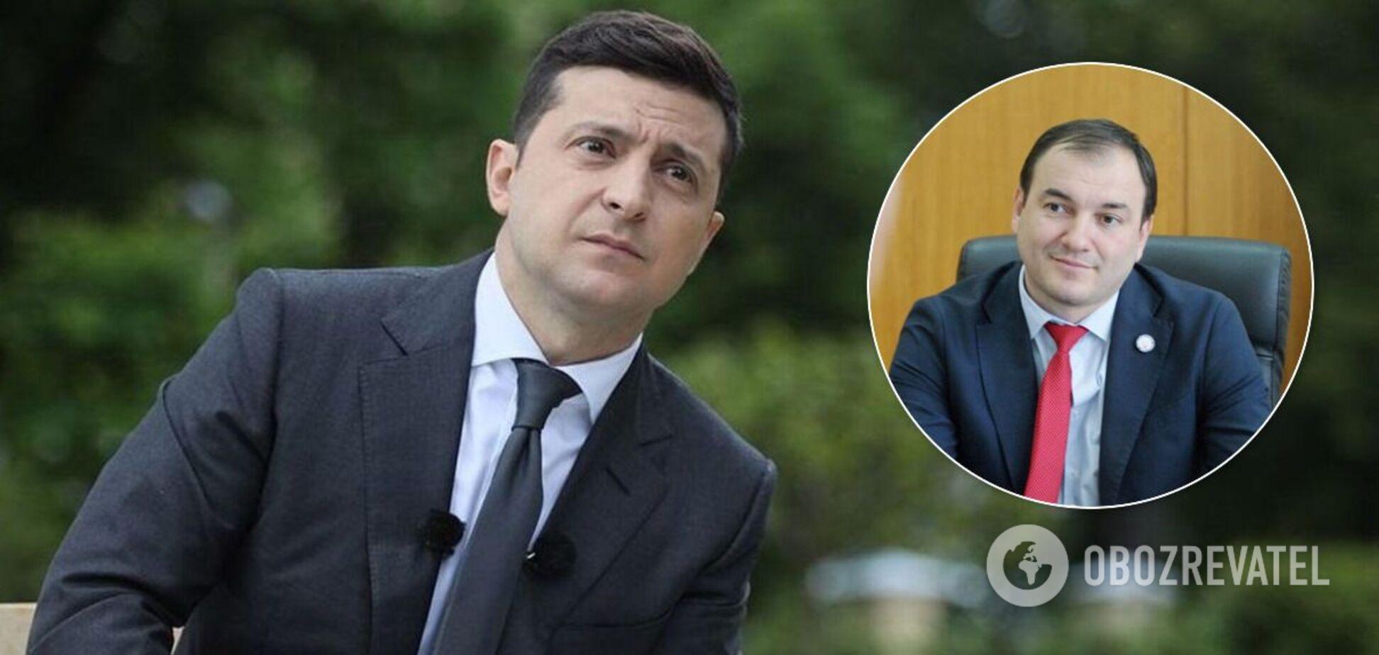 'Разбойник', которого Зеленский выгнал год назад в Борисполе, пошел в мэры