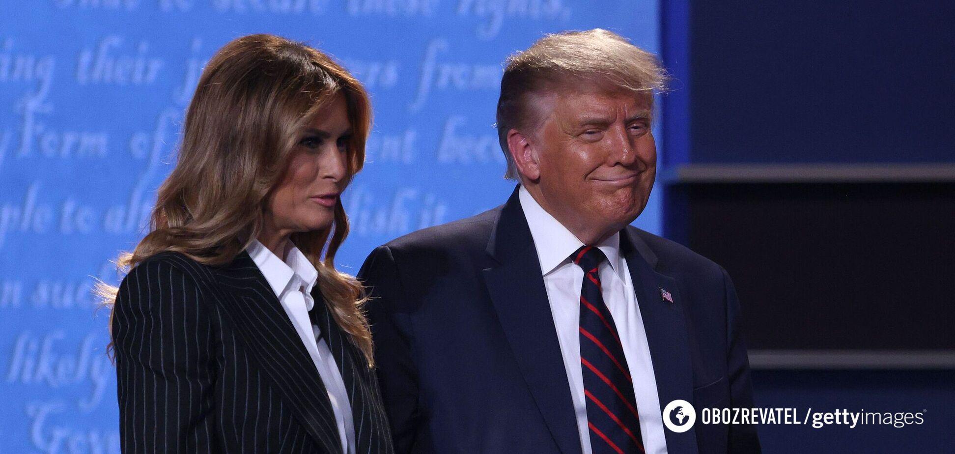 Дружина Трампа розповіла про стан після зараження COVID-19