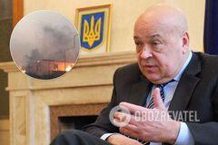 Москаль назвал причину распространения пожаров на Луганщине