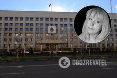 Ирина Славина подожгла себя у здания МВД в Нижнем Новгороде